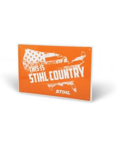 STIHL COUNTRY Aluminum Sign