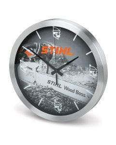 STIHL WOOD BOSS Wall Clock